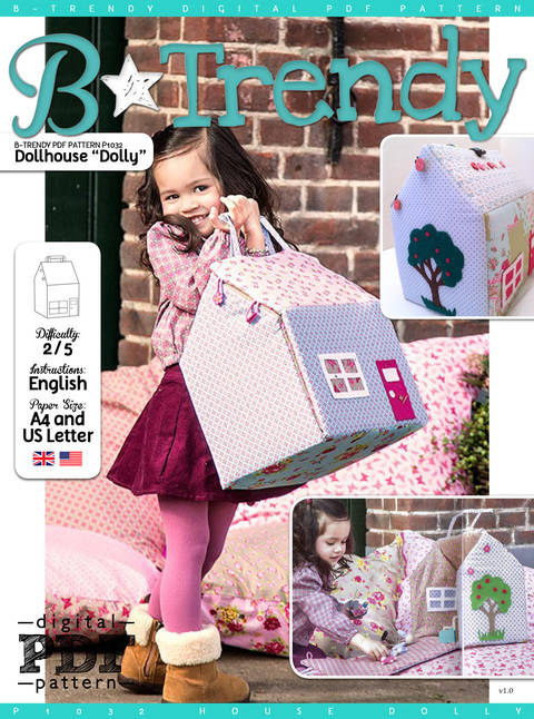 Dollhouse DOLLY PDF Pattern + Tutorial
