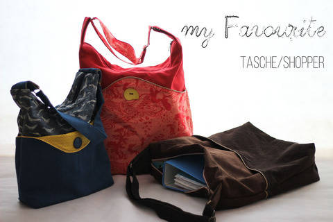 "Tasche/Shopper ""my Favourite"" bei Makerist"