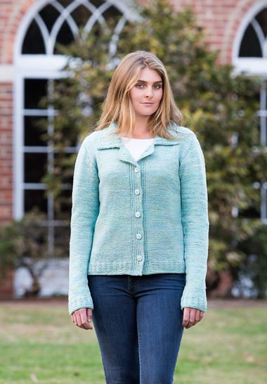 Anchorage Top-Down Cardigan #120 at Makerist - Image 1