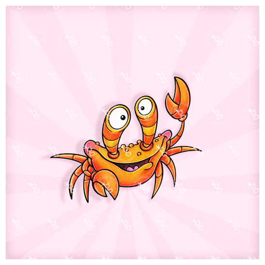 "digi stamp ""crab"" bei Makerist - Bild 1"