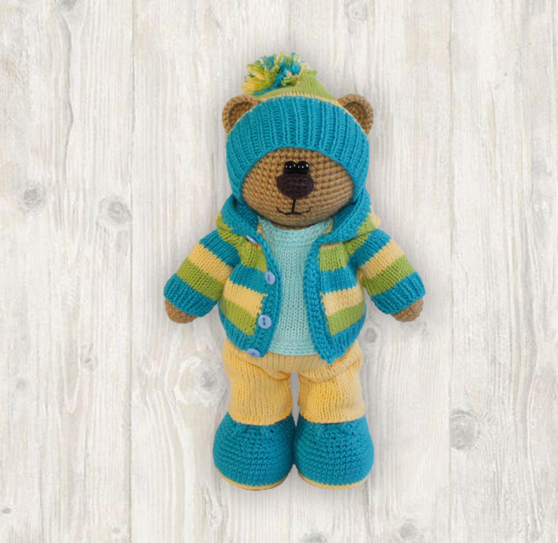 Billy Bear Crochet + Knitting Pattern