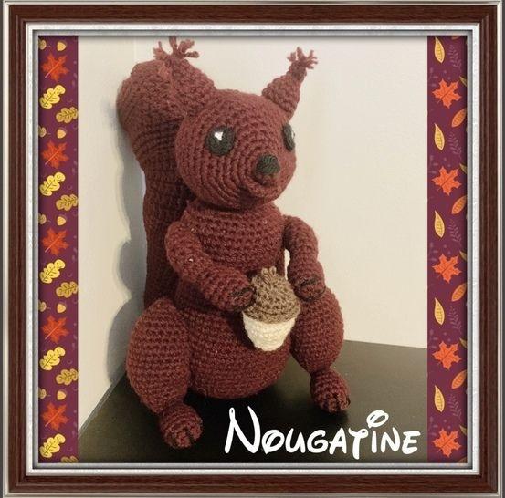 Tuto pdf Nougatine écureuil crochet chez Makerist - Image 1