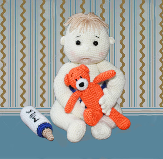 Baby Ollie Doll Crochet Pattern at Makerist - Image 1