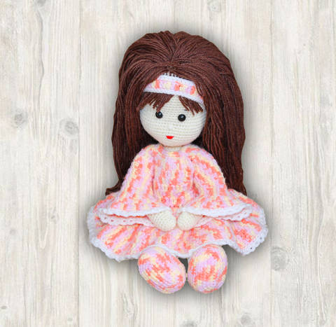 Caroline Doll Crochet Pattern