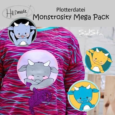 Plotterdatei Monstrosity Mega Pack