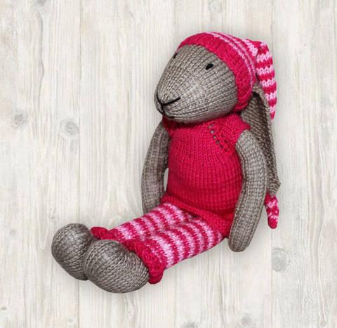 Bunny Girl Knitting Pattern
