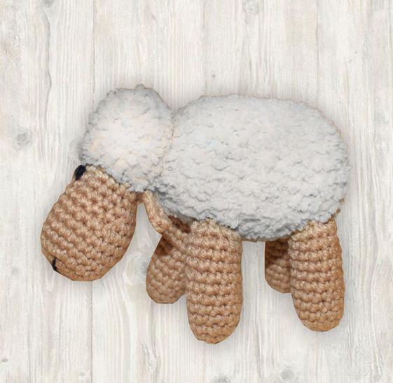 Sheep Crochet Pattern at Makerist - Image 1