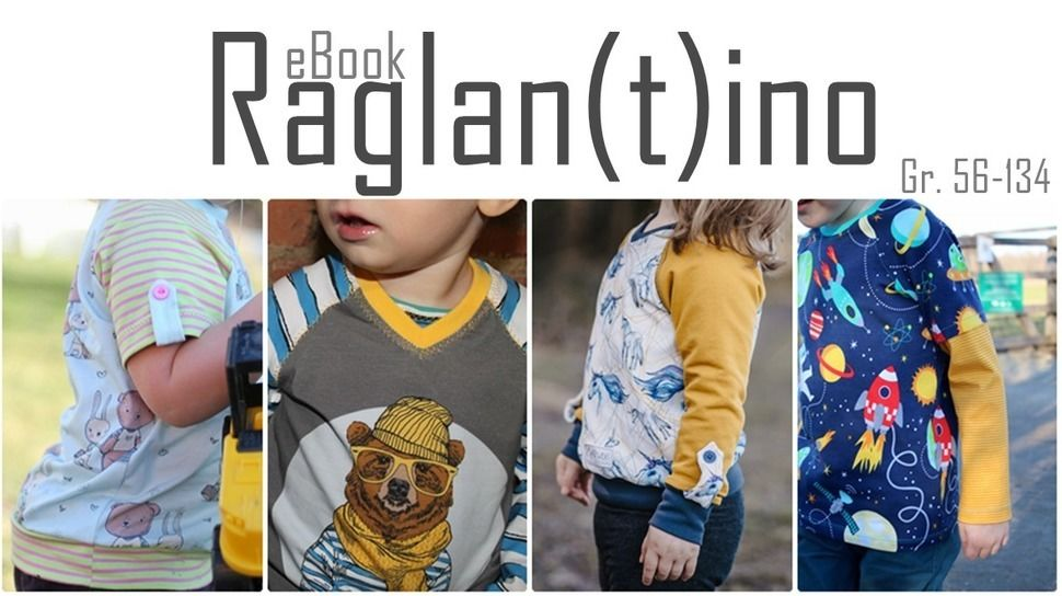 Raglantino / Raglanshirt Hoodie / Anleitung + Schnittmuster bei Makerist - Bild 1