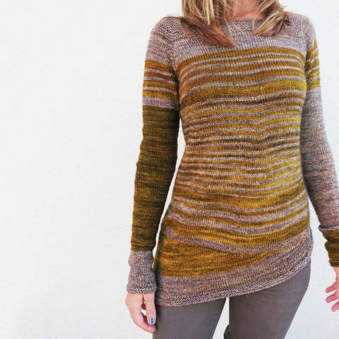Pull Aphrodite - explications tricot