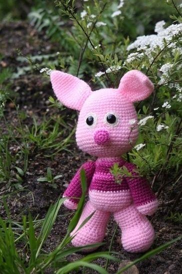 Häkelanleitung Schweinchen Schlau bei Makerist - Bild 1