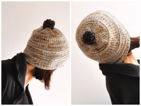 Bonnet soft texture - explications tricot chez Makerist