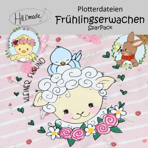 """Plotterdatei """"Frühlingserwachen - SparPack"""" bei Makerist"""