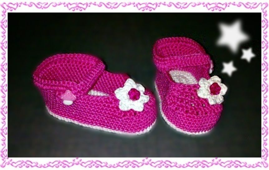 Baby Ballerina in pink – crochet pattern at Makerist - Image 1