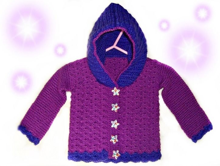 Baby Jacket Shell Look Size 62 (3-4 Month) – Crochet Pattern at Makerist - Image 1