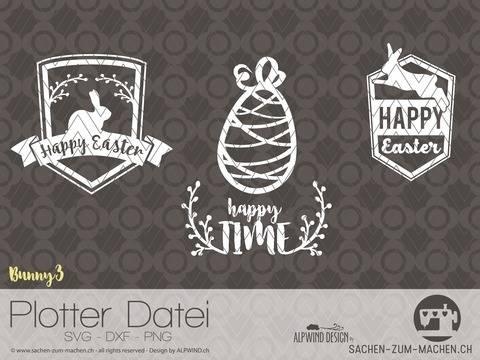 """Plotter-Datei """"bunny"""" #3"""