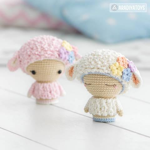 "Mini Wendy from ""AradiyaToys Minis"" collection at Makerist"