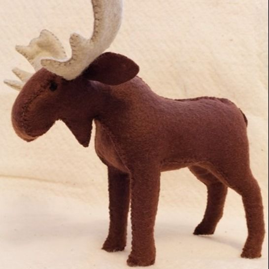 Felt Moose, pattern and Illustrated Instructions at Makerist - Image 1