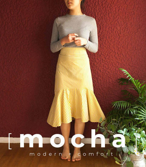 MOCHA Maytal Skirt PDF Pattern (#2530) at Makerist