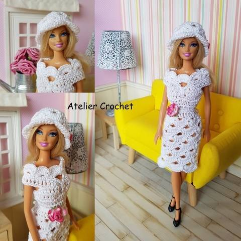 """Layla"" crochet pattern for Barbie at Makerist"