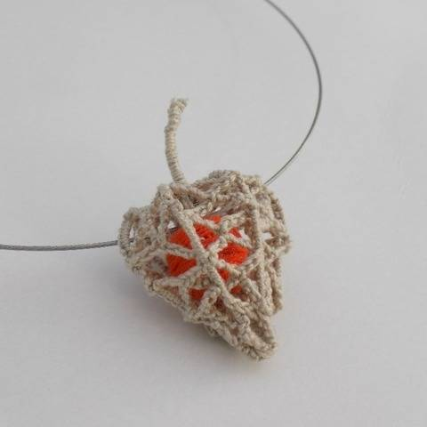 Crochet Skeleton Physalis flower Pattern, Chinese Lantern