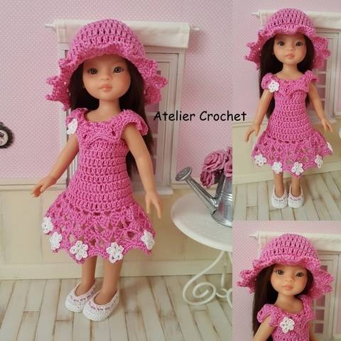 """Amandine"" crochet pattern for Paola Reina at Makerist"