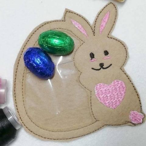 ITH - Geldgeschenk Verpackung - Osterhase mit Ei