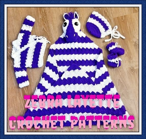Zebra Baby Layette at Makerist - Image 1