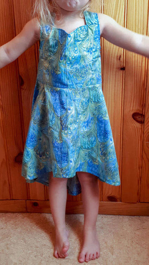 Dress Meredith size 2-12 years