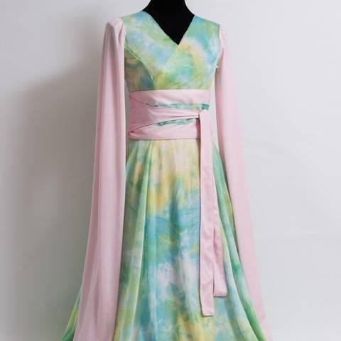 Robe Ballet de Pekin - patron et explications détaillées