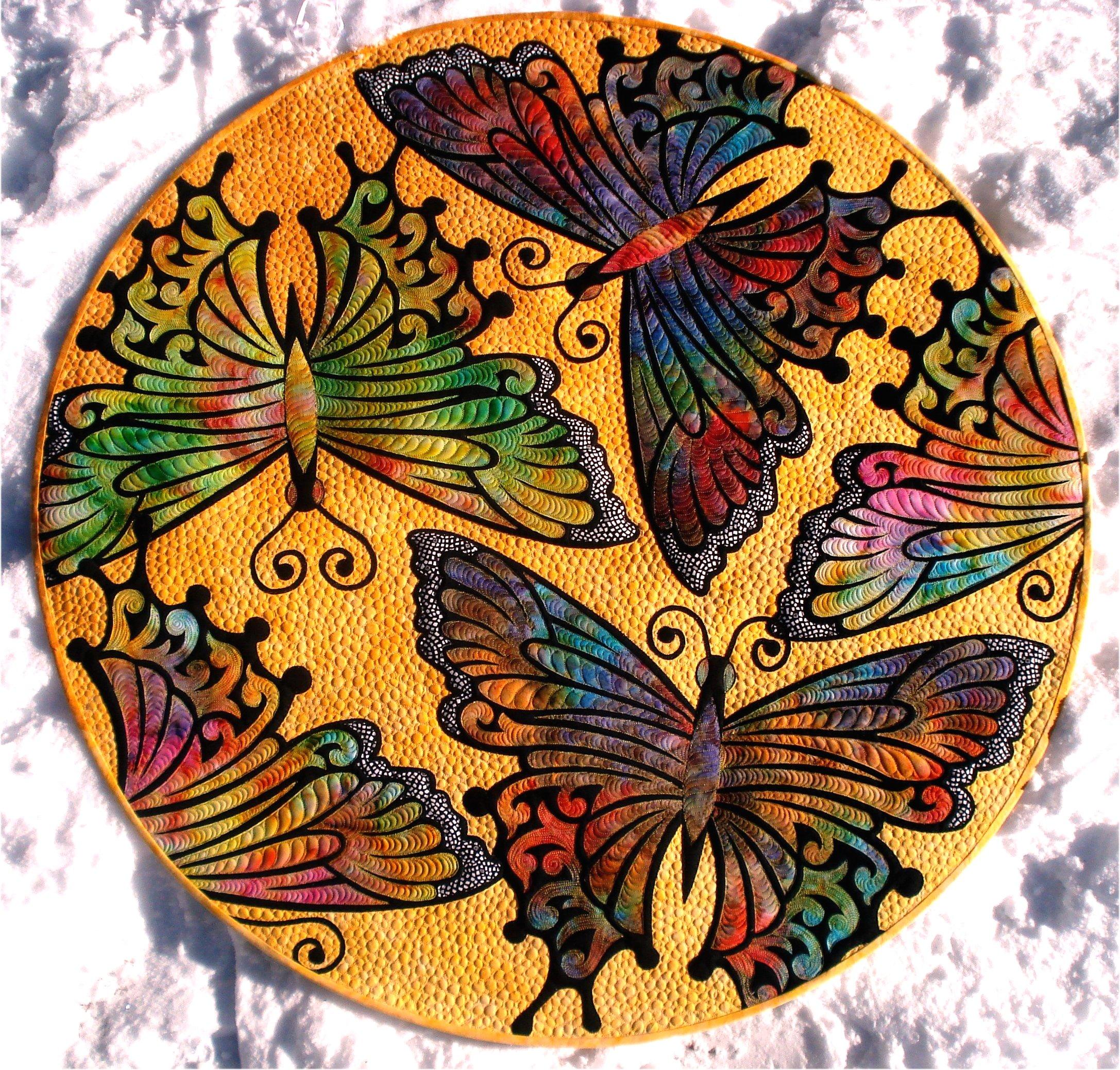 Kimimila Butterfly quilt PDF pattern