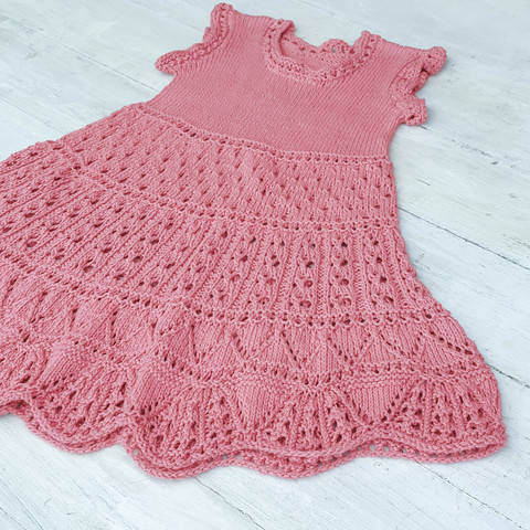 Adalie Dress- Knitting Pattern
