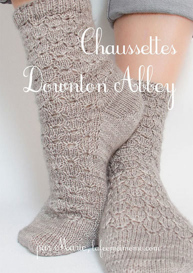 Chaussettes Downton Abbey chez Makerist - Image 1