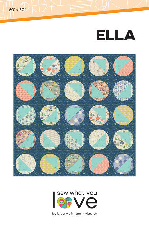 Ella Modern Quilt Pattern at Makerist