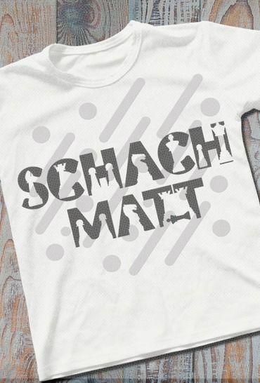 SCHACH / SCHACH MATT Shadow inkl. Trash und Splash Deko bei Makerist - Bild 1