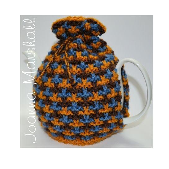 Oxford Textured Tweed Tea Cozy at Makerist - Image 1