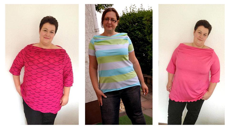 Nähanleitung und Schnittmuster curvyPenelope Shirt, Grössen: 48 - 58 bei Makerist - Bild 1