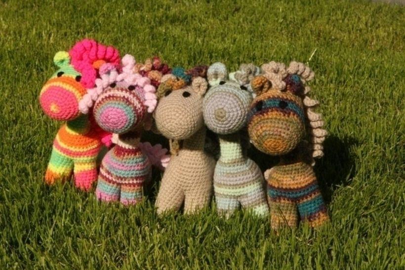 Häkelanleitung Baby Pony bei Makerist - Bild 1