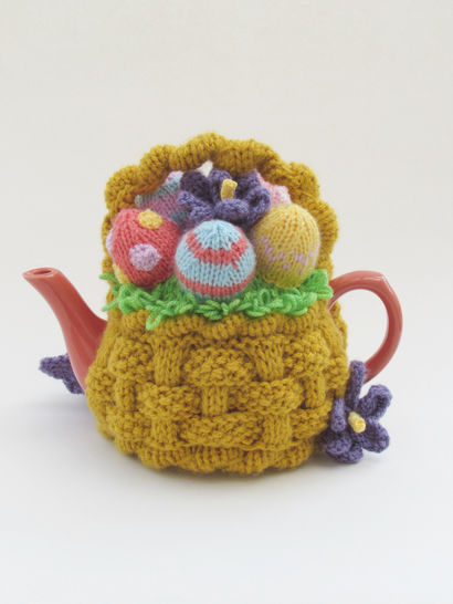 Basket of Easter Eggs Tea Cosy at Makerist - Image 1