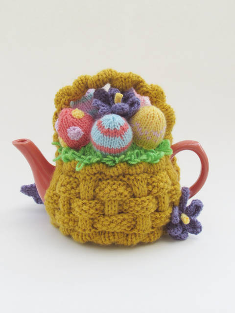 Basket of Easter Eggs Tea Cosy at Makerist