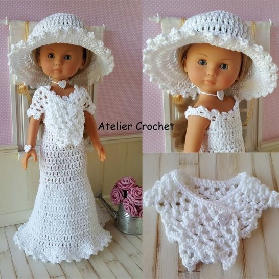"""""""Bride"""" crochet pattern for Chérie Corolle at Makerist - Image 1"""