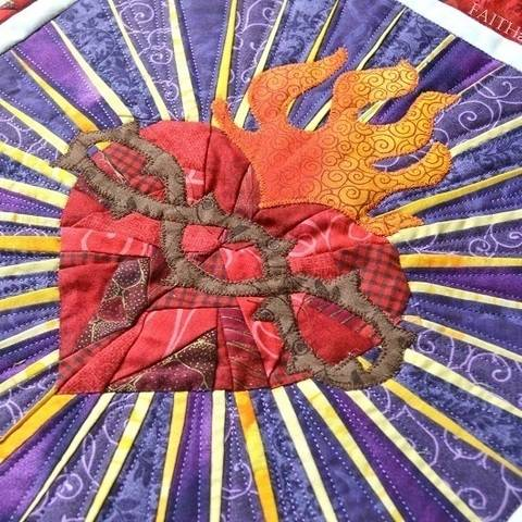 Sacred Heart of Jesus Quilt Pattern