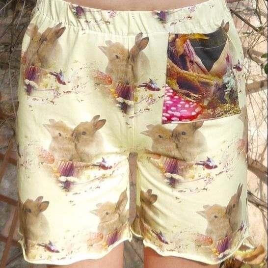 PDF sewing-pattern E-Book Shorts Verena with instructions at Makerist - Image 1