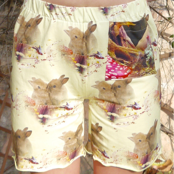 PDF sewing-pattern E-Book Shorts Verena with instructions
