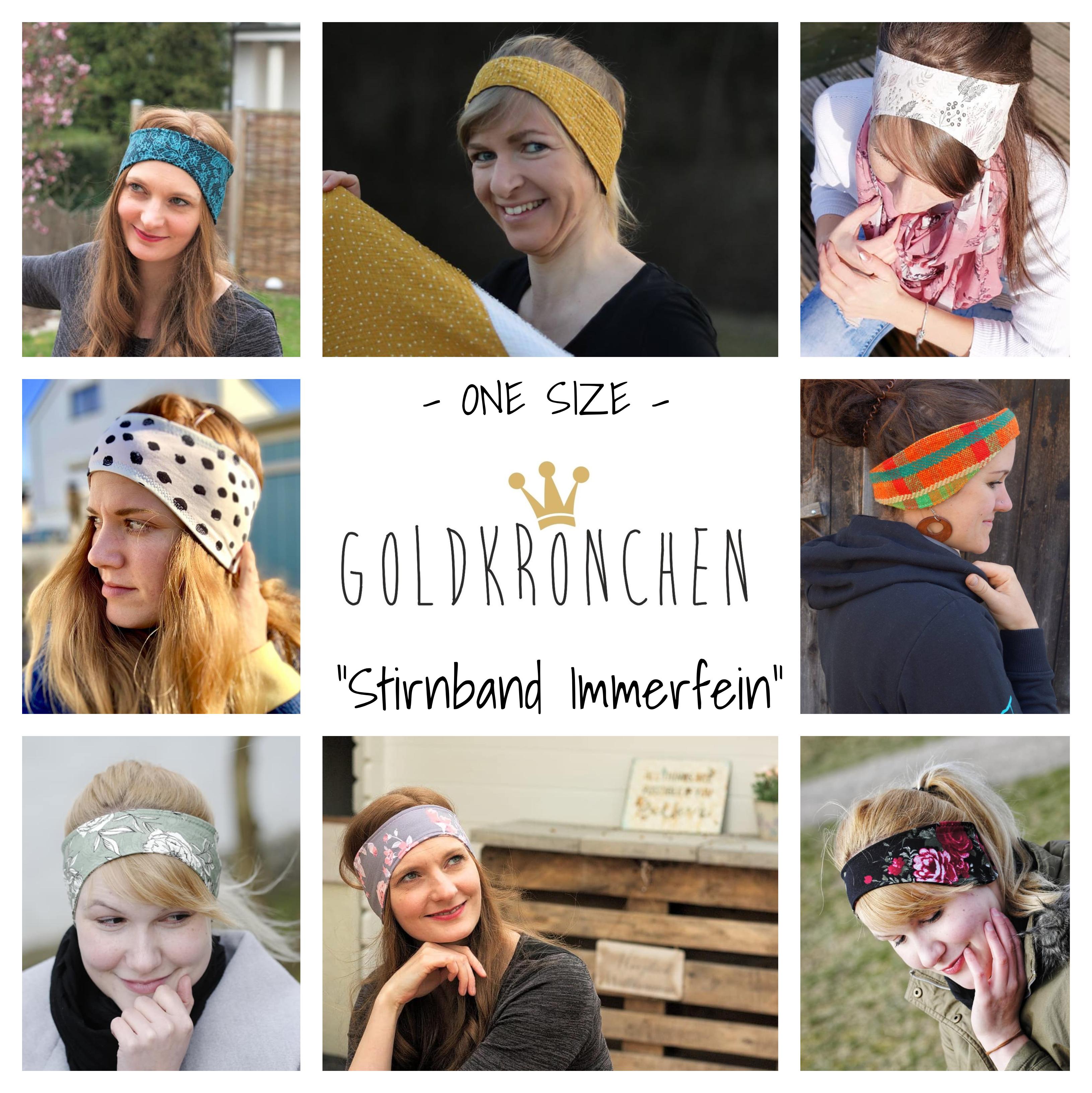 Stirnband Immerfein Ebook, one size
