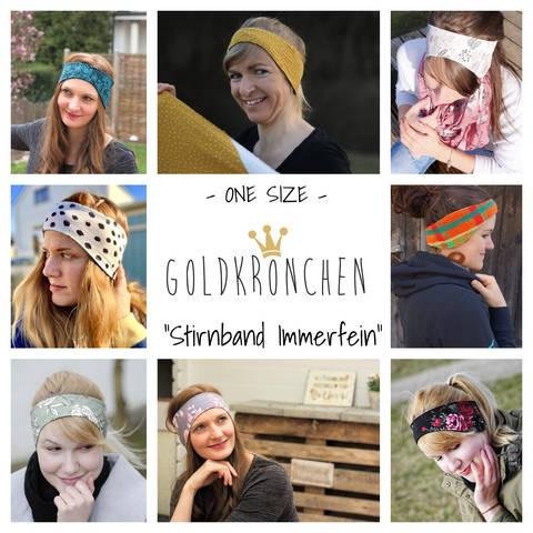 Stirnband Immerfein Ebook, one size bei Makerist