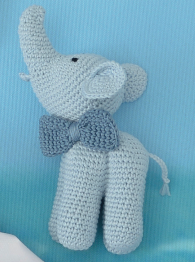 Crochet Elephant Amigurumi Free Pattern with Video | Häkeln ... | 892x666