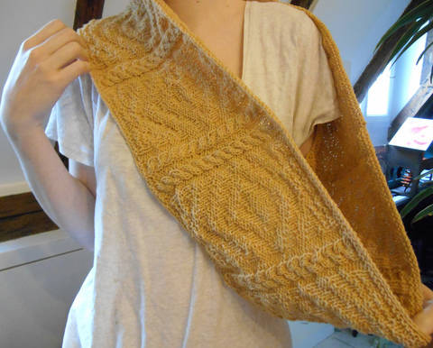 Snood Pouldohan - explications tricot chez Makerist