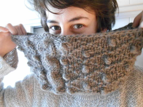 Snood Kumquat - explications tricot chez Makerist