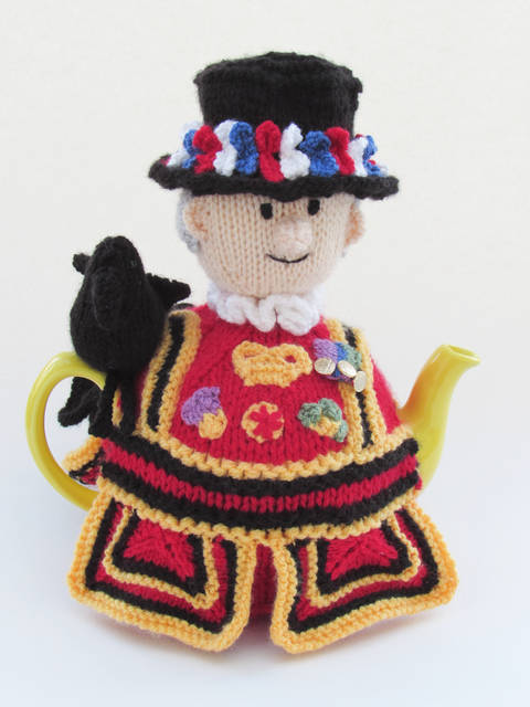 Beefeater Tea Cosy Knitting Pattern  at Makerist