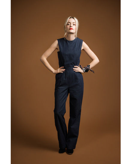 Acacia Jumpsuit - sewing pattern + detailed instructions at Makerist - Image 1